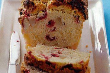 Pear & Raspberry Coconut Bread Recipe - Taste.com.au