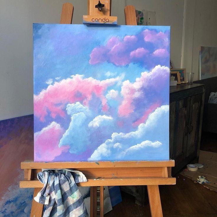 𝕡𝕚𝕟𝕥𝕖𝕣𝕖𝕤𝕥 Maya Garcia Small Canvas Art Painting