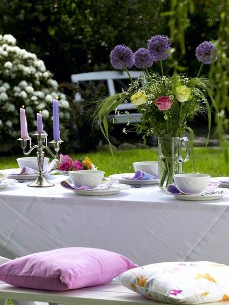 74 besten gartenparty bilder auf pinterest deko ideen - Gartenfeier deko ...