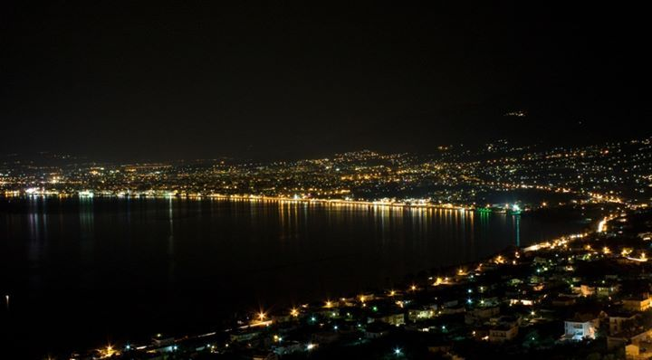 Kalamata by night @ Kalamata Greece