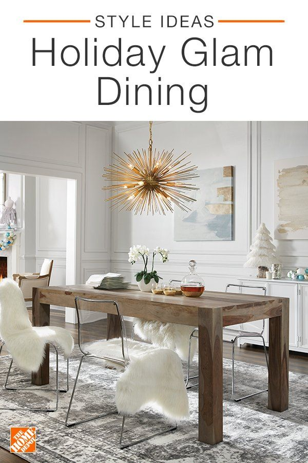 warm up your dining room with stunning accents from the home depot rh pinterest com