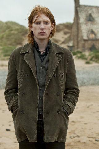 Bill Weasley outside Shell Cottage.