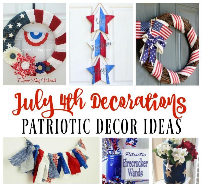July 4th Decoration Ideas - Patriotic Decor - My Pinterventures http://mypinterventures.com/july-4th-decoration-ideas-patriotic-decor/?utm_campaign=crowdfire&utm_content=crowdfire&utm_medium=social&utm_source=pinterest