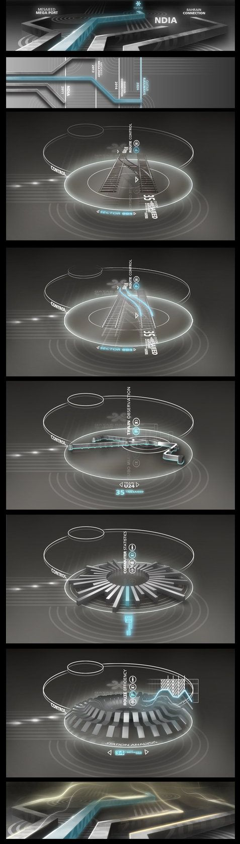 Motion Graphics/ Storyboards idea | Touchscreen interface concept by stereolize-design