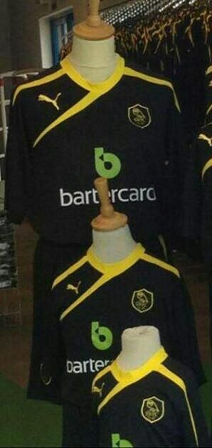 This is the new Sheffield Wednesday away kit 2013/14, SWFC's new change strip for the forthcoming 13/14 Championship season. This new black and yellow SWFC away shirt has been made by Puma an…
