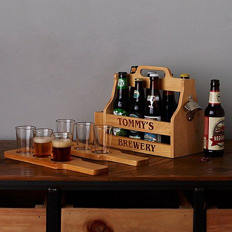 Personalized Craft Beer Gift Set at Wine Enthusiast - $79.95
