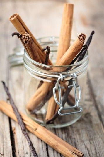 También podemos agregar la vainilla o canela para darle sabor.
