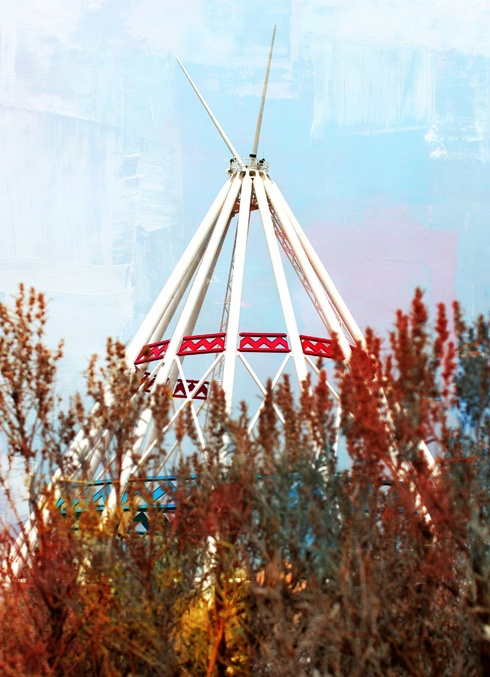 World's Largest Teepee in Medicine Hat