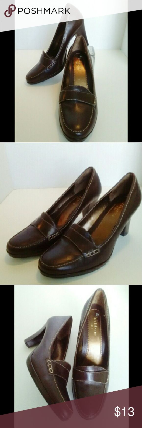 Liz Claiborne Flex shoes Beautiful Liz Claiborne shoes.  Very good condition, not worn much at all.  Leather upper/balance manmade, stated on inside of shoe. Liz Claiborne Shoes Heels