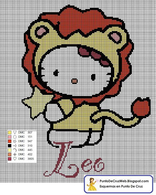 Knitting Games Hello Kitty : Best images about h�ros cartoon bd point de croix