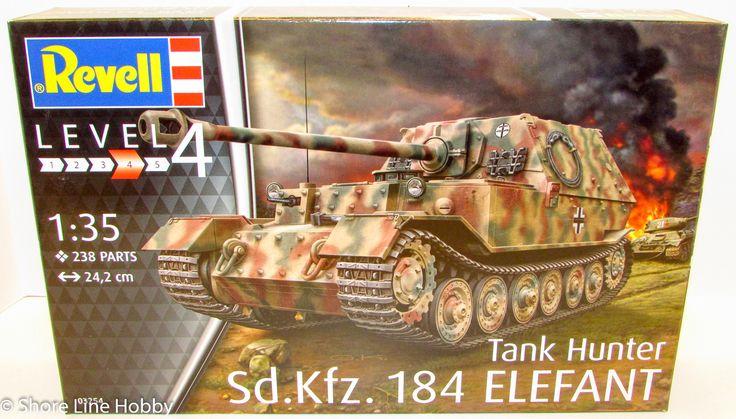 Revell Sd.Kfz. 184 Elefant Tank Hunter 03254 1/35 Armor Plastic Model Kit