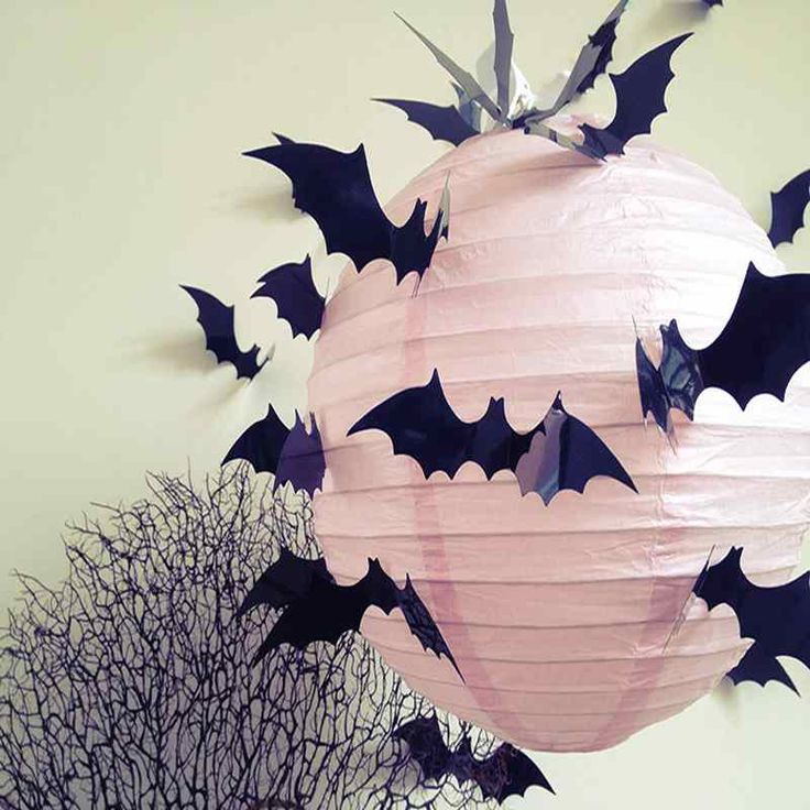 50 cheap easy to make halloween bats decoration ideas