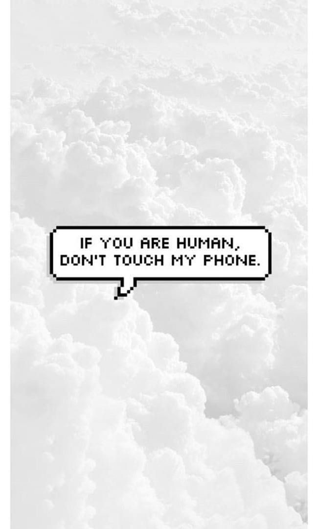 Pin By Milica Kljajic 2 On Lockscreen Wallpaper In 2020 Funny Phone Wallpaper Dont Touch My Phone Wallpapers Phone Wallpapers Tumblr