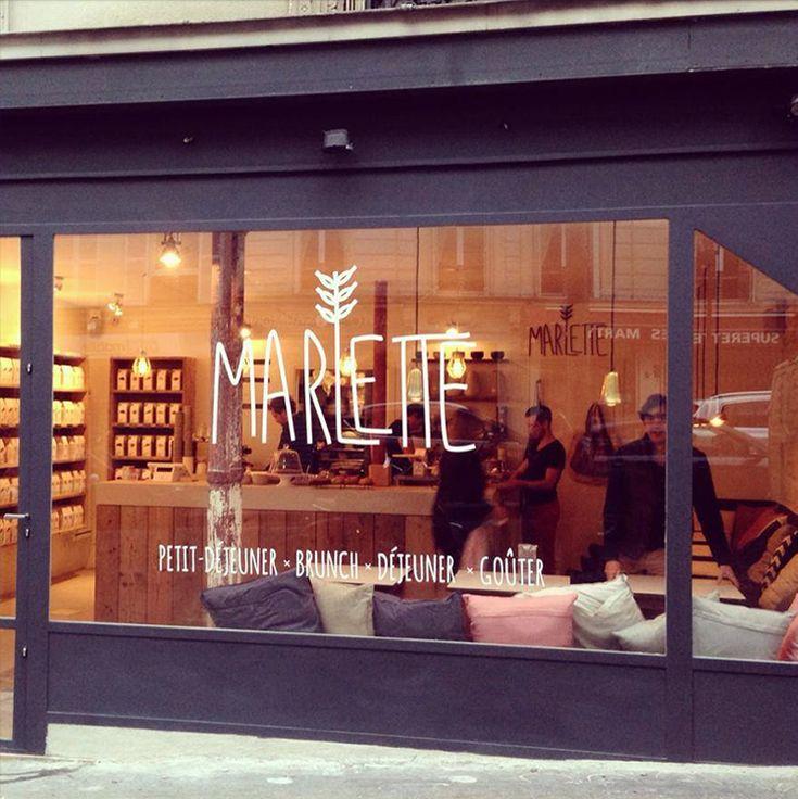 Café Marlette  51 rue des Martyrs 75009 Paris