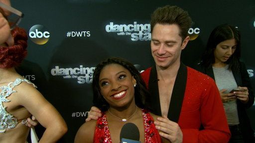 """The Olympic gymnast and dancing partner Sasha Farber let loose on Nancy Kerrigan and Nick Viall both being voted off of """"Dancing With the Stars."""""""