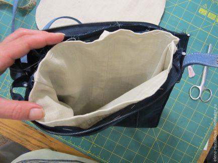 Uszyć torbę denim z łapą jednostki zawór zdobione Patchwork małpy – Fair M…