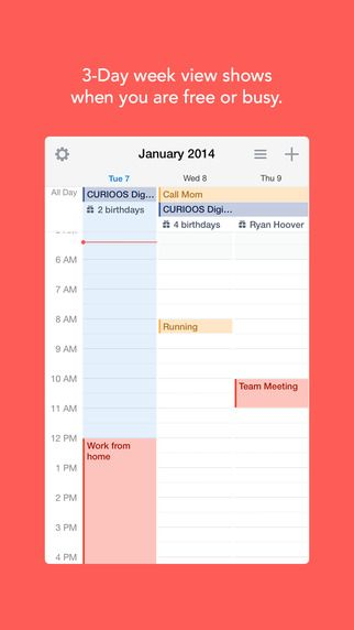 Best productivity #apps we #levolove: 1. Sunrise (iPhone, Android) It's like Google Calendar on steroids.