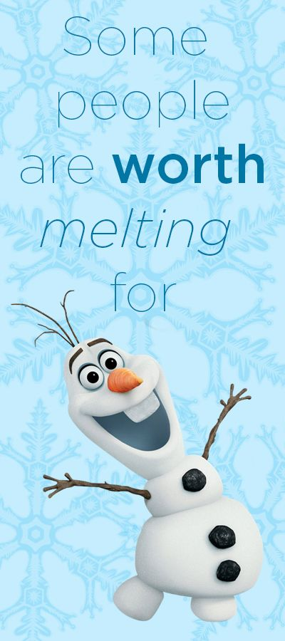 Olaf - Frozen. #moviequotes #frozen #olaf #quotes #inspirational