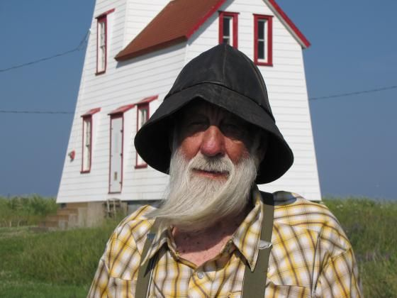 Lighthouse Keeper at North Rustico