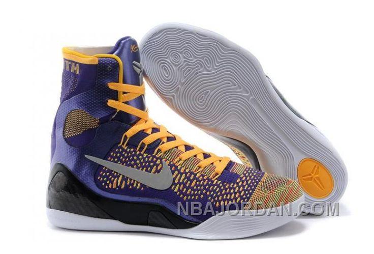 http://www.nbajordan.com/mens-nk-kobe-9-elite-hightop-basketball-shoes-purple-yellow-online.html MEN'S NK KOBE 9 ELITE HIGH-TOP BASKETBALL SHOES PURPLE YELLOW ONLINE Only $78.00 , Free Shipping!
