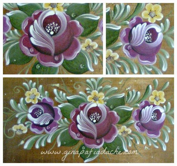 Atelier Gina Pafiadache: Pintando uma Gota de Orvalho!