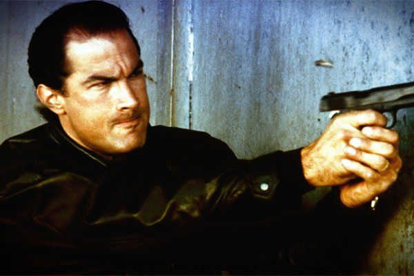 """Steven Seagal Then: A late bloomer, Seagal didn't make his film debut until 1988, when, at the age of 36, he debuted in """"Above the Law.""""-Xfinity Entertainment Staff"""