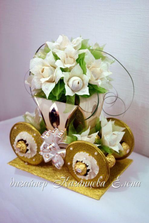 Gallery.ru / Фото #15 - свадебные композиции с конфетами - kazantceva