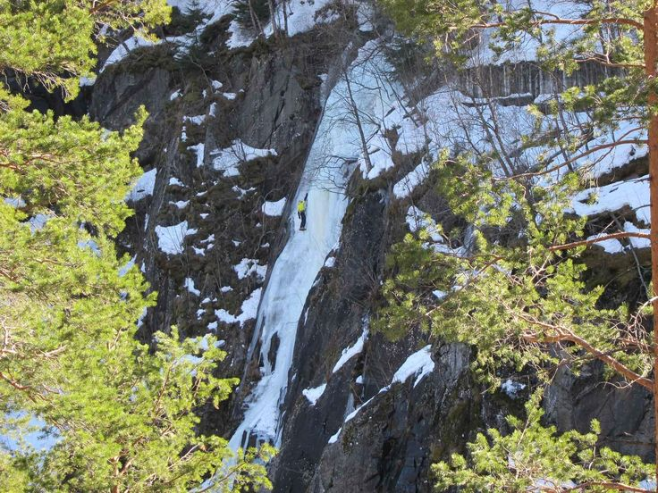 Guide to ice climbing in Rjukan, Norway