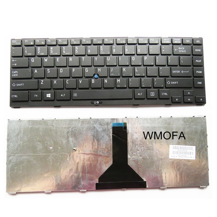NEW US For Toshiba R830 R800-K01B K02B K03B T02U T01B T03B R830-K01B K03B K05B K08B Keyboard with pointing sticks English Black #Affiliate