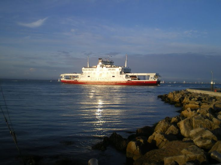 Red funnel Ferry to Cowes.