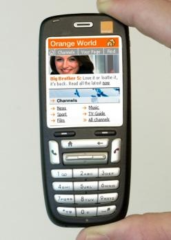 Orange – SPV C500 - one of the first HTC phones.