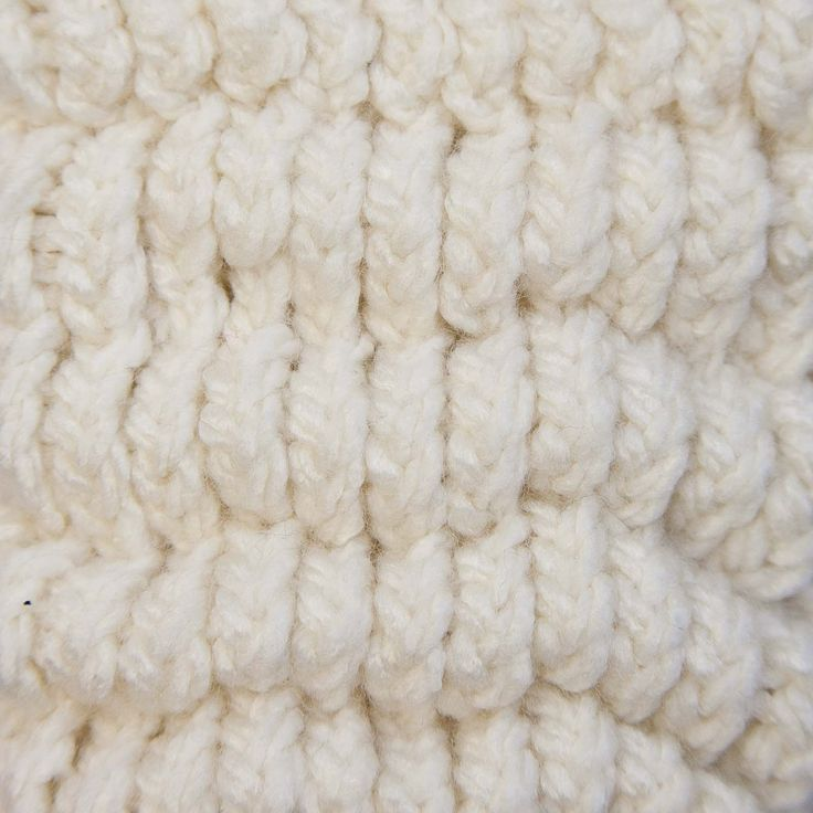 Knit Popcorn Stitch In The Round : PUFF STITCH:: Loom Knitting Loom Knitting Pinterest The ojays, Loo...