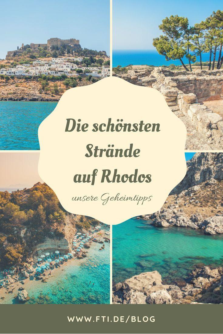 Die Schönsten Strände Auf Rhodos In 2019 Die Schönsten Strände