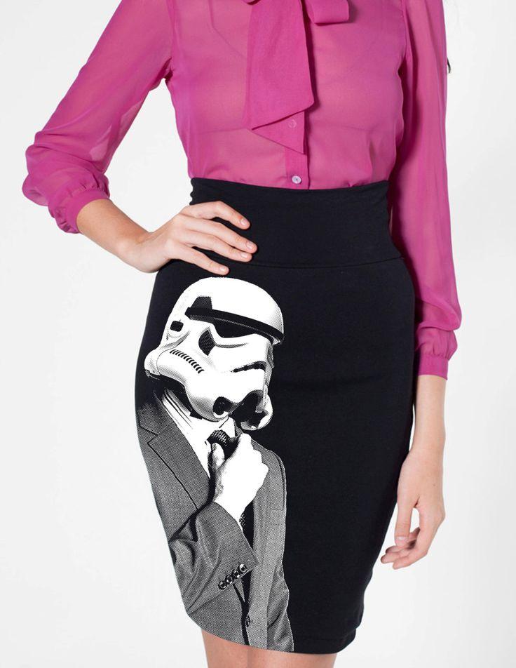 Stormtrooper Bleistiftrock | Dressed Like Machines