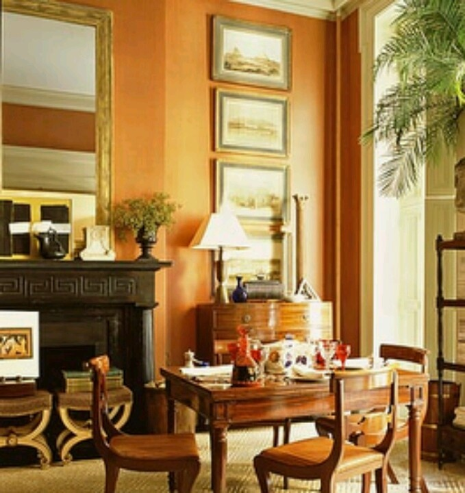living room wall paint colors%0A Beautiful apricot paint