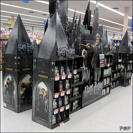 Harry Potter Point of Purchase for Christmas or Halloween ... or Both?