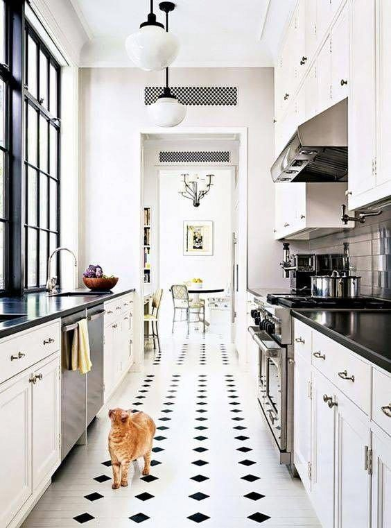 galley kitchen ideas for small and narrow spaces homedecorideascute rh pinterest com