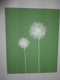dandelion painting - Google Search