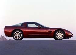 2003 Corvette 50th Anniversary coupe