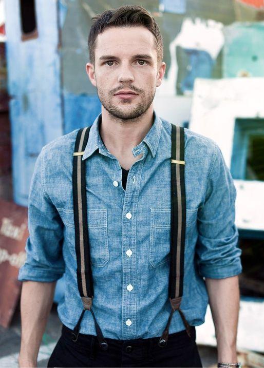 17 best images about men wearing suspenders on pinterest for Dujardin richard