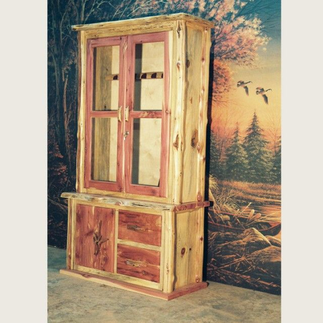 Red Cedar Gun Cabinet House Pinterest Red Cedar
