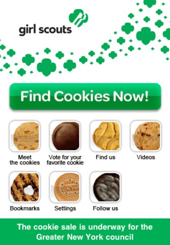 Girl Scout Cookie iPhone App... I'm gonna go buy a box.