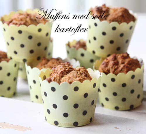 Sweet potato muffins for kids. Healthy muffins - Babybite.dk