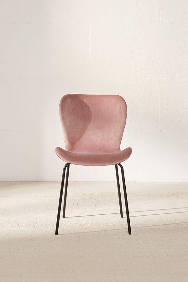 rosa velvet dining chair nyc a p a r t m e n t pinterest rh pinterest com