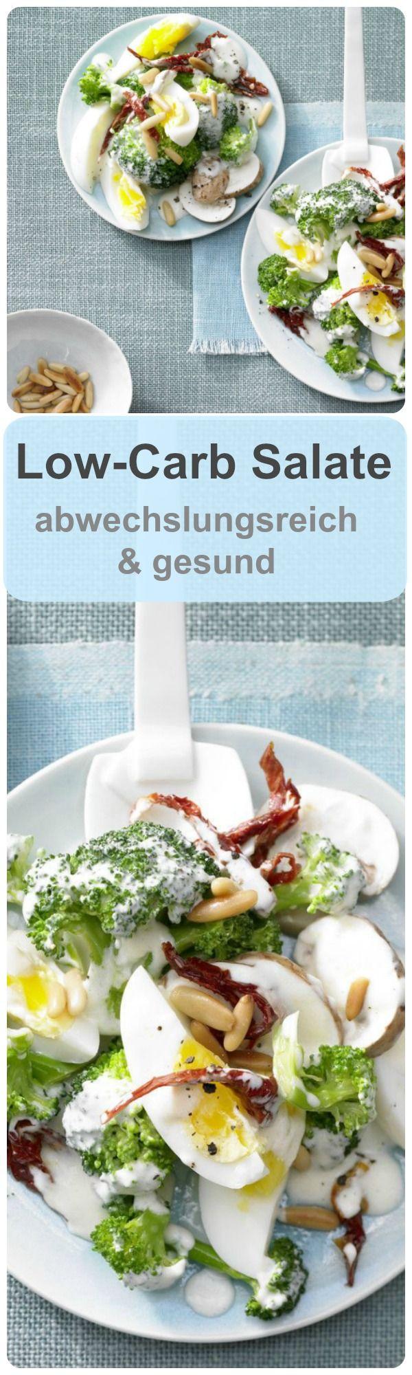Unsere Low-Carb Salate sind immer eine gesunde und leckere Mahlzeit, ob im Büro oder abends nach der Arbeit. Rezepte finden Sie auf eatsmarter.de