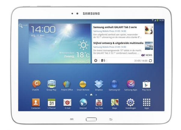 P5200 - GALAXY TAB3 10.1 (16GB - 3G) https://anamo.eu/el/p/xTySLF8JKgdGLF6 Samsung P5200 - GALAXY TAB3 10.1 (16GB - 3G), Network/Bearer and Wireless Connectivity TAB VOICE & DATA 2G EDGE / GPRS (850 / 900 / 1800 / 1900 MHZ) 3G HSPA + (850 / 900 / 1900 / 2100) ※ ανάλογα με την περι...