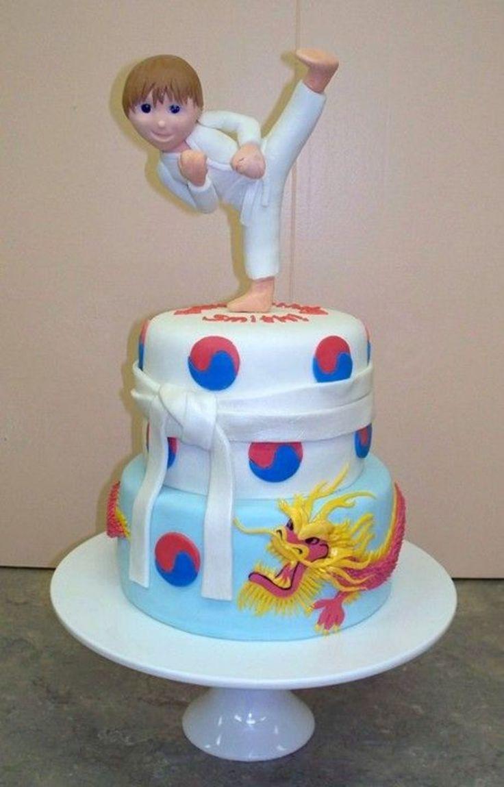 19 Best Karate Cakes Images On Pinterest Karate Cake
