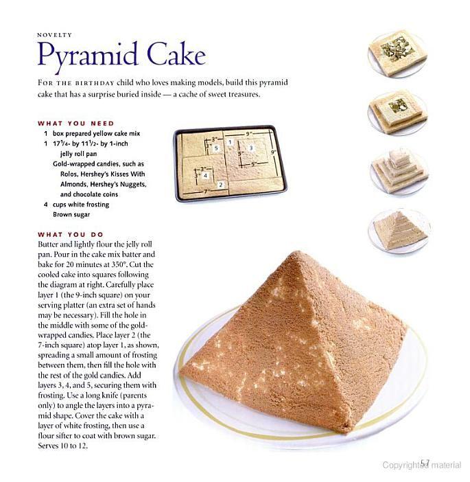 Egyptian Cake Flavor