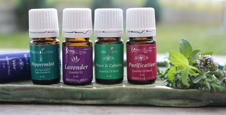 Young Living essential oils... the best oils