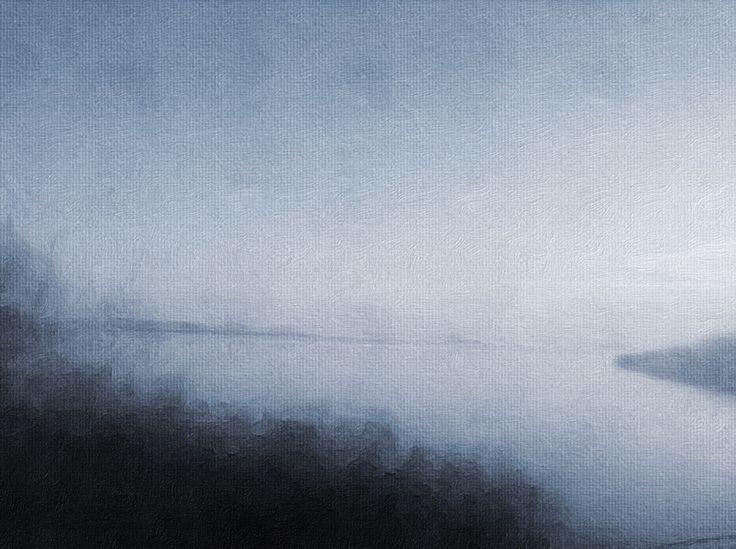 "Juliet Jardin   ""Cold Morning"" 2014, oil on canvas"
